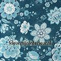 PiP Folklore Chintz Donker Blauw PiP Wallpaper III eijffinger