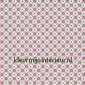 PIP geometric roze behang  eijffinger
