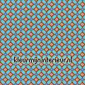 PIP geometric blauw  eijffinger