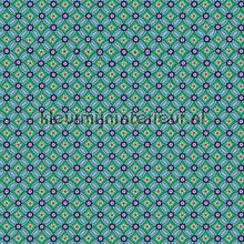 PIP geometric blauw-groen behang fotomurales Eijffinger PiP studio wallpaper