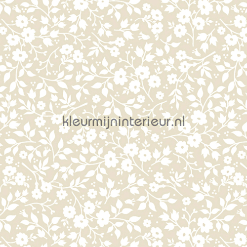 PIP Lovely branches Khaki fotobehang 341062 PiP Wallpaper III Eijffinger