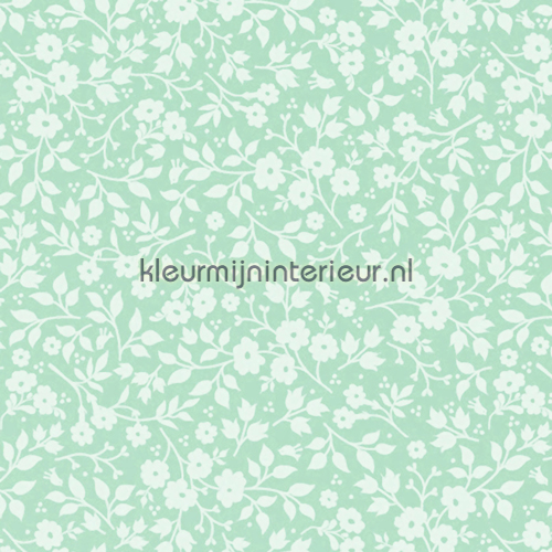 PIP Lovely branches Groen fotobehang 341064 PiP Wallpaper III Eijffinger