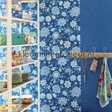 PiP Folklore Chintz Donker Blauw fotobehang 341013 PiP Wallpaper III Eijffinger