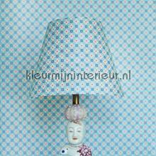 PIP geomatric licht blauw behang Eijffinger romantisch modern