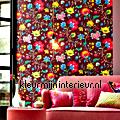 PiP Floral Fantasy bordeaux PiP Wallpaper III eijffinger
