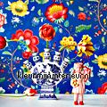 PiP Floral Fantasy Blauw PiP Wallpaper III eijffinger