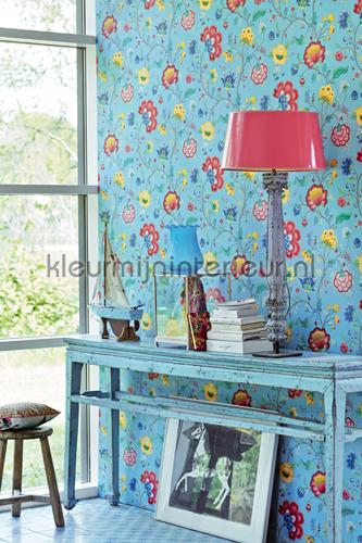 PiP Floral Fantasy Licht Blauw fotobehang 341035 PiP Wallpaper III Eijffinger