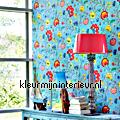 PiP Floral Fantasy Licht Blauw PiP Wallpaper III eijffinger