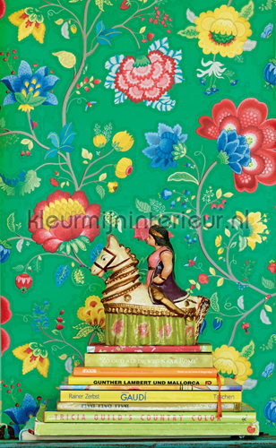 PiP Floral Fantasy Groen Behang fotobehang 341036 PiP Wallpaper III Eijffinger