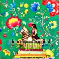 PiP Floral Fantasy Groen Behang  eijffinger