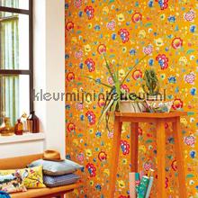 PiP Floral Fantasy Geel photomural Eijffinger PiP Wallpaper III 341037