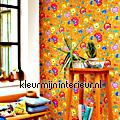 PiP Floral Fantasy Geel PiP Wallpaper III eijffinger