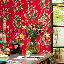 PiP Dutch Painters Rood fotomurales Eijffinger PiP studio wallpaper