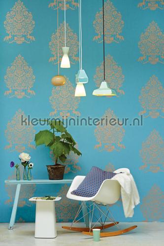 PiP For President Blauw fotobehang 341052 PiP Wallpaper III Eijffinger