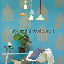 PiP For President Blauw wallcovering Eijffinger urban