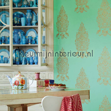 PiP For President Groen wallcovering Eijffinger urban
