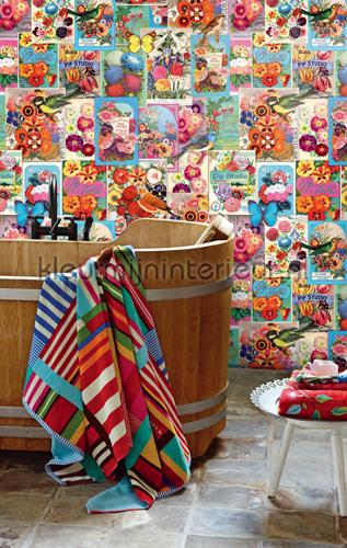 PiP Jardin de PIP behang papier murales 341083 PiP studio wallpaper Eijffinger