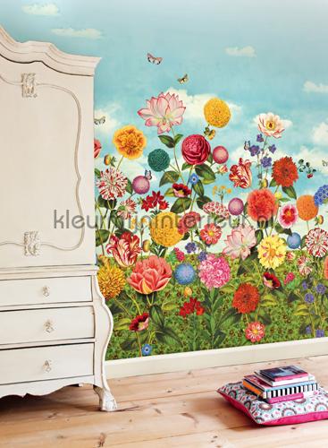 PiP Wild flowerland behang fotobehang 341085 PiP Wallpaper III Eijffinger