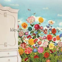 PiP Wild flowerland behang fotomurales Eijffinger PiP studio wallpaper