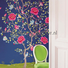 PIP Morning Glory Blauw Behang fotomurales Eijffinger PiP studio wallpaper