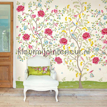 PIP Morning Glory Wit Behang fotomurales Eijffinger PiP studio wallpaper