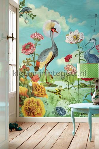 Pip Kiss the Frog  papier murales 341099 PiP Wallpaper III Eijffinger
