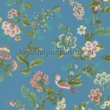 PiP Botanical Print Bright Blue behang Eijffinger Pip Wallpaper IV 375066