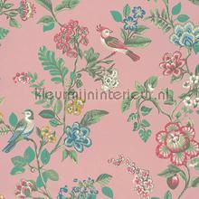 PiP Botanical Print Soft Pink behang Eijffinger Pip Wallpaper IV 375063