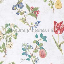 Cherry PiP Off White behang Eijffinger Pip Wallpaper IV 375020