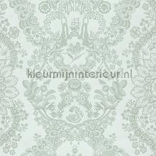 PiP Lacy Dutch Green behang Eijffinger Pip Wallpaper IV 375041