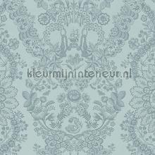 PiP Lacy Dutch Sea Blue behang Eijffinger Pip Wallpaper IV 375042