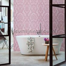 PiP Lacy Dutch Soft Pink behang Eijffinger Pip Wallpaper IV 375043