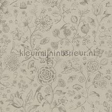 PiP Spring to Life Two Tone Khaki behang Eijffinger Pip Wallpaper IV 375011