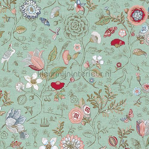 Eijffinger Pip Behang.Pip Spring To Life Green 375002 Behang Pip Wallpaper Iv Eijffinger