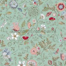 PiP Spring to Life Green behang Eijffinger Pip Wallpaper IV 375002