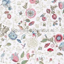 PiP Spring to Life Off White behang Eijffinger Pip Wallpaper IV 375000