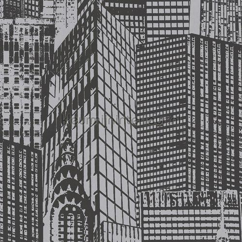 Buildings 3D relief sticker interieurstickers 955671 abstract modern AS Creation