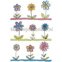 Gewoon bloemetjes XL sticker wallstickers AS Creation vindue stickers
