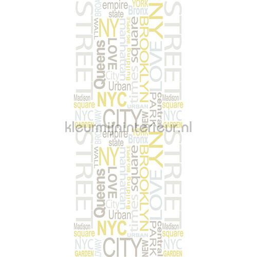 NY street XL sticker decoration stickers 942392 Countries - Cities AS Creation