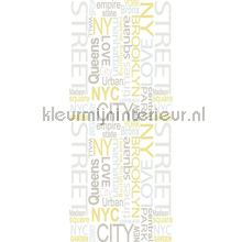 NY street sticker interieurstickers AS Creation abstract modern