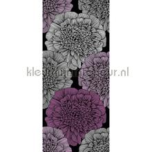 Giant grafic flower XL sticker wallstickers AS Creation vindue stickers