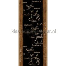 Coffee time XL sticker wallstickers AS Creation vindue stickers