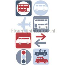 Traffic sticker interieurstickers AS Creation jongens