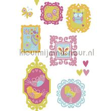 Bosdieren sticker interieurstickers AS Creation Baby Peuter