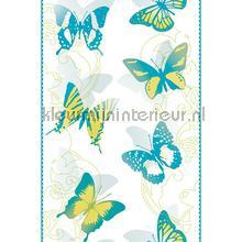 Blue butterflies sticker interieurstickers AS Creation dieren