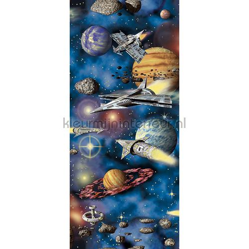 Spaceships and planets XL sticker stickers mureaux 942681 Voitures - Transport AS Creation
