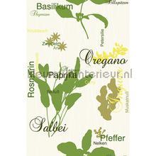 Ingredients interieurstickers AS Creation bloemen natuur