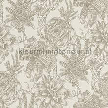 Bromelia behang Rasch Portobello 289618