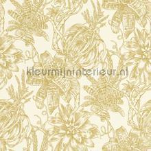 Bromelia behang Rasch Portobello 289625