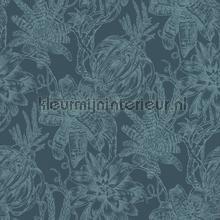 Bromelia behang Rasch Portobello 289663